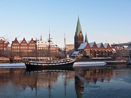 Gret B.: Bremen, Schlachte, 2010.