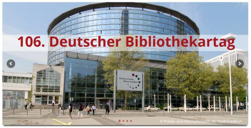 106. Deutscher Bibliothekartag
