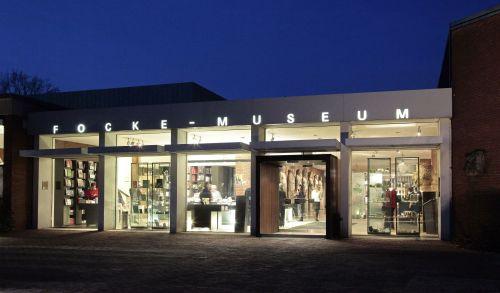 Focke Museum Haupthaus nachts